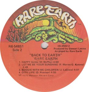 RARE EARTH - 548 - RARE EARTH 2