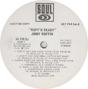SOUL 708 - RUFFIN JIMMY RA