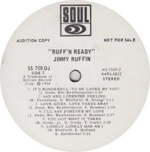 SOUL 708 - RUFFIN JIMMY RA_0001