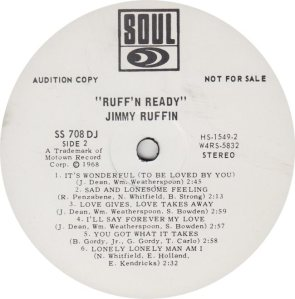 SOUL 708 - RUFFIN JIMMY RA_0001