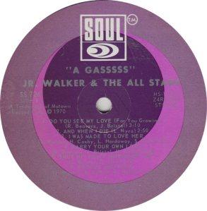 SOUL 726 - WALKER JR RA