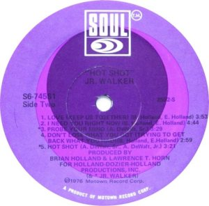 SOUL 745 - JR WALKER - D