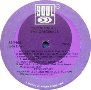 SOUL 746 - ORIGINALS C