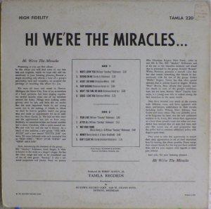 Tamla 220B - Miracles