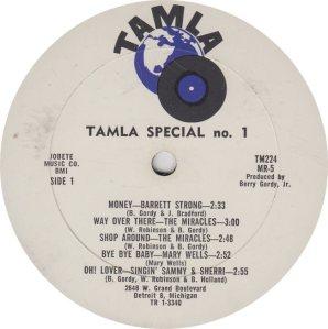 TAMLA 224 - VARIOUS - A