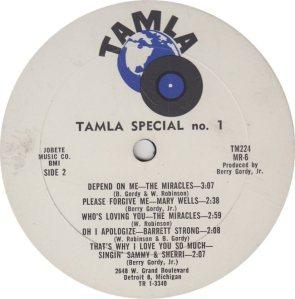 TAMLA 224 - VARIOUS - B