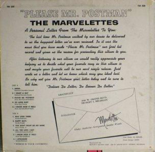 Tamla 228B - Marvelettes