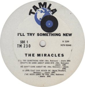 TAMLA 230 - MIRACLES R