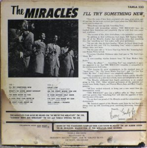 Tamla 230B - Miracles