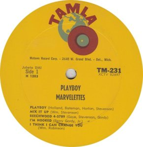 TAMLA 231 - MARVELETTES R