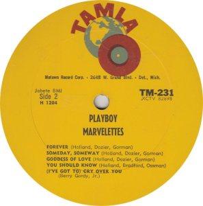 TAMLA 231 - MARVELETTES R_0001