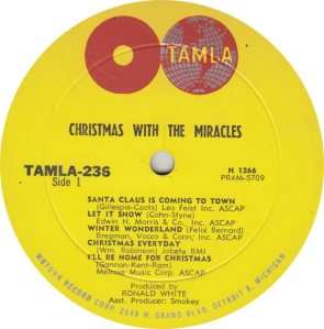TAMLA 236 - MIRACLES R