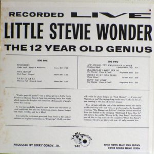 Tamla 240B - Wonder, Little Stevie