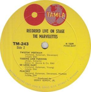 TAMLA 243 - MARVELETTES R_0001