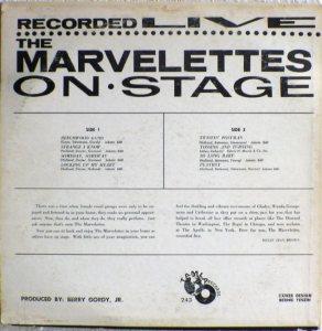 Tamla 243B - Marvelettes