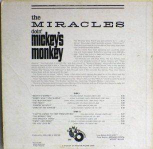 Tamla 245B - Miracles