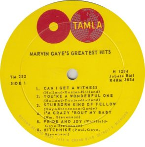 TAMLA 252 - GAYE R