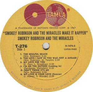 TAMLA 276 - MIRACLES - R