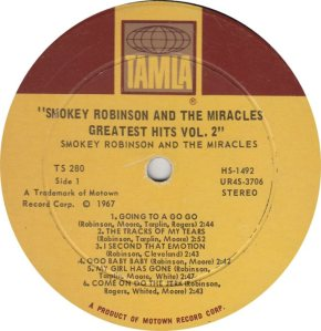 TAMLA 280 - MIRACLES - R