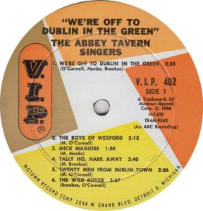 VIP 402 - ABBEY TAVERN A