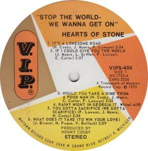 VIP  404 - HEARTS STONE - A