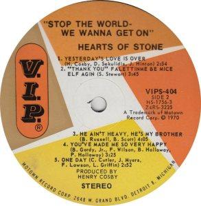 VIP 404 - HEARTS STONE - B