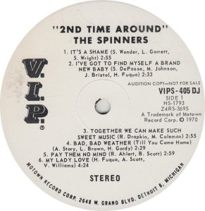 VIP  405 - SPINNERS A