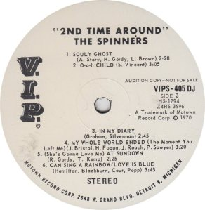 VIP 405 - SPINNERS B