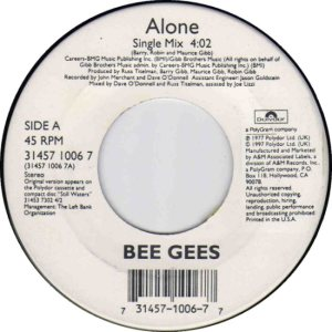 BEE GEES - FEB 1997 A