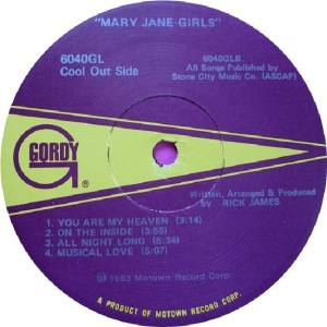 GL 6040 - MARY JANE E