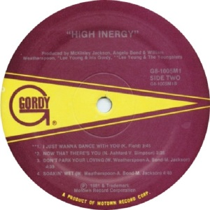 GORDY 1005 - HIGH INERGY - C
