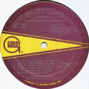 GORDY 991 - STONE CITY BAND B