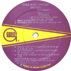 GORDY 999 - SWITCH C