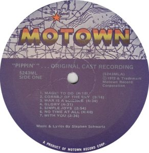 MOTOWN 5243 - PIPPIN