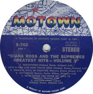 MOTOWN 702 - SUPREMES