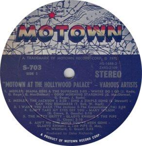 MOTOWN 703 - VARIOUS