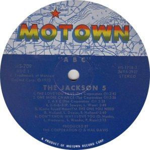 MOTOWN 709 - JACKSON 5