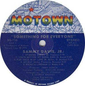 MOTOWN 710 - DAVIS SAMMY