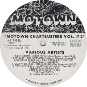 MOTOWN 715 - VARIOUS