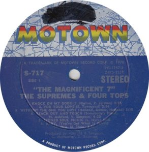 MOTOWN 717 - SUPREMES FOUR TOPS