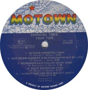 MOTOWN 721 - FOUR TOPS
