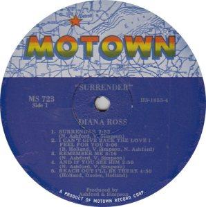MOTOWN 723 - ROSS DIANA