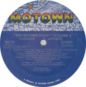 MOTOWN 731 - VARIOUS V5 2