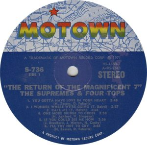 MOTOWN 736 - SUPREMES & FOUR TOPS