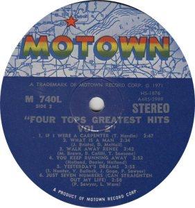 MOTOWN 740 - FOUR TOPS