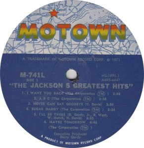 MOTOWN 741 - JACKSON 5