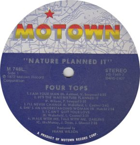 MOTOWN 748 - FOUR TOPS
