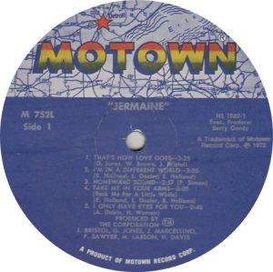 MOTOWN 752 - JACKSON JERMAINE