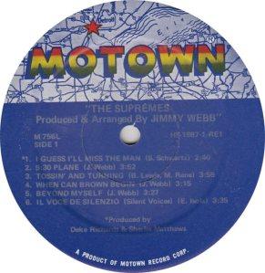 MOTOWN 756 - SUPREMES