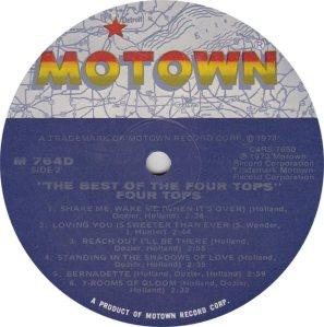 MOTOWN 764 - FOUR TOPS 2